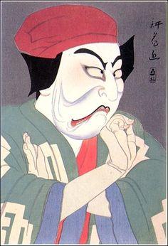 Yamamura Toyonari - Matsumoto Koshiro VII As Sekibei 1919