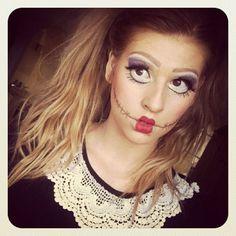 Hannah Leigh photo 1 - Halloween doll makeup