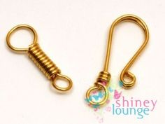 The Beading Gem's Journal: More Lovely Wire Clasp Tutorials to Try