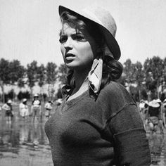 SILVANA MANGANO (Riso Amaro, Giuseppe De Santis, 1949.)