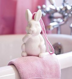 Scented Handmade Soap Figures on a Rope