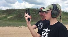Guns for Beginners: Kristin Meisner Learns to Shoot While Moving