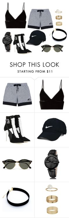 """""""Harper"""" by shavellexoxo on Polyvore featuring adidas, T By Alexander Wang, Puma, Nike Golf, Ray-Ban, Gucci and Miss Selfridge"""