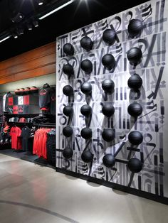 """NIKE RETAIL DESIGN, (BASKETBALL), """"Rise to the Top"""",pinned by Ton van der Veer"""