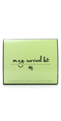 Ms. & Mrs. Mother of the Groom Survival Kit