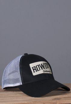 c7021ac8c5ffa New + Restocks. GentlemanPatches. Rowdy Gentleman Tan Bar Mesh Hat - Black