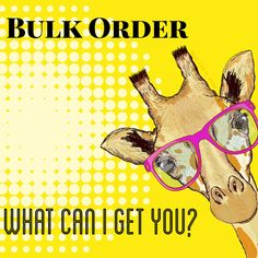 """Fun """"Bulk Order"""" graphic with negative space for your business name, bulk order date or pricing! Body Shop At Home, The Body Shop, Perfectly Posh, Pure Romance, Makeup Quotes, Color Street Nails, Bulk Order, Rodan And Fields, Hello Beautiful"""