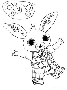 Bing celebrates the realities, learning and adventure of being a preschool child. Bing is an ABC KIDS Puggles show. Bing Bunny, Abc For Kids, Coloring Book Pages, Toy Boxes, 2nd Birthday, Silhouette Cameo, Bingo, Projects To Try, Doodles