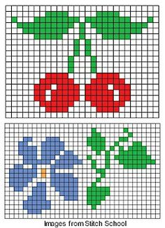 Thrilling Designing Your Own Cross Stitch Embroidery Patterns Ideas. Exhilarating Designing Your Own Cross Stitch Embroidery Patterns Ideas. Simple Cross Stitch, Cross Stitch Borders, Crochet Borders, Crochet Chart, Cross Stitch Flowers, Cross Stitching, Cross Stitch Patterns, Crochet Granny, Diy Embroidery
