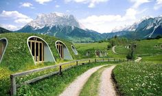 Have you ever fantasized about living deep in the ground, in one of the cosy hobbit holes that J.R. R. Tolkien so richly describes in his novels? A company named Green Magic Homesis giving their customers the opportunity to do just that, with their easy to assemble pre-fabricated structures that can be covered with soil, to create a charming home any hobbit would be happy to reside in. Possibly the best part? It takes only three people to assemble on of these structures in three days.