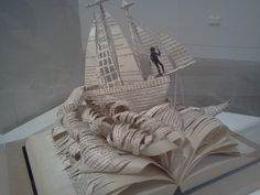 amazing book art by a high school artist