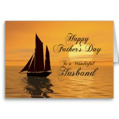 Father's day card for husband
