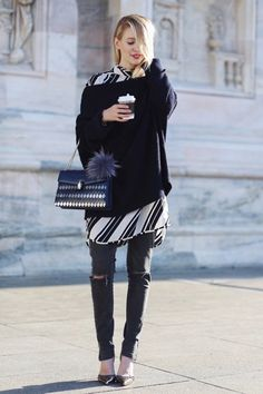 You can choose which type of pattern to complete your outfit and the stripes can always make a good choice. As we all know, different kinds of striped shirts and tops are perfect to create our casual everyday styles. Besides, the striped coats are also being very popular this season. They will make a super …