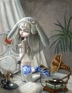 Kukula art, Fan Girl - Pop Surrealism