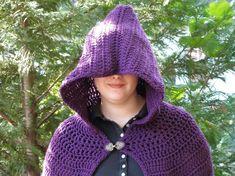Free+Hooded+Bunting+Crochet+Pattern | Crochet Full Length Cloak Pattern Pattern