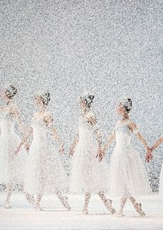 Winter *❄~*.Wishes & Dreams.*~❄* Waltz of the Snowflakes