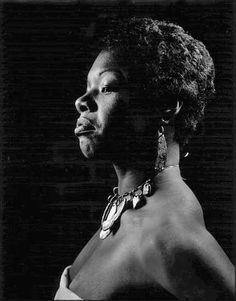 Maya Angelou joined the Harlem Writers Guild when she moved to New York.