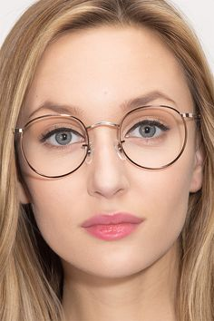 Daydream S Brown Golden Metal Eyeglasses from EyeBuyDirect. Exceptional style, quality, and price with these glasses. This frame is a great addition to any collection.