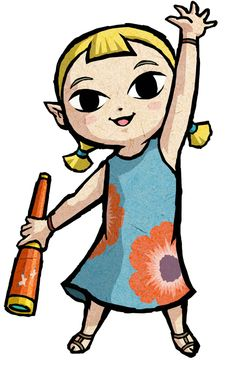 Aryll - The Legend of Zelda: The Wind Waker HD