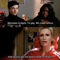 Moment from glee Season 1