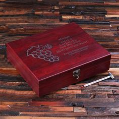 7 Piece Wine Accessories Kit with Personalised Box