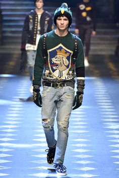 Dolce Gabbana Milan Menswear Fall Winter 2017, desfile masculino, tendencia masculina, inverno 2017, winter 2018, alex cursino, blog de moda, moda sem censura (103)