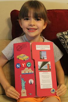 Spark and All - Five in a Row (FIAR) - The Little Red Lighthouse and the Great Gray Bridge Lapbook