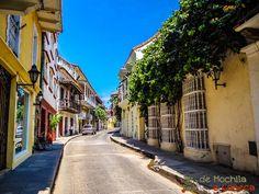 Cartagena com ruas vazias