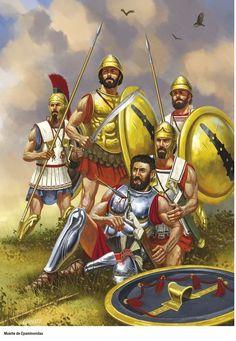 Гоплиты Беотийского союза