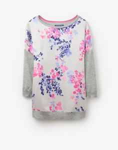 KITTYDrop Shoulder Woven Knit Mix Jumper Joules afd072771215
