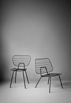 WM string chair, Menu