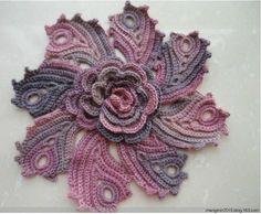 dantel çiçek motifi