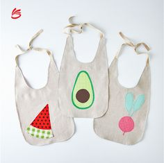 Custom Baby Burp Cloths & Teething Bibs on Food Mummy And Daddy Bibs - 3 Pack Baby Bib Newborn Bibs & Dribble Bibs