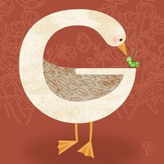 Picture Diary: G is for Goose