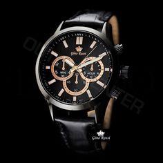 Pánské hodinky - Gino Rossi, Choopard, elegantní Gin, Watches, Accessories, Fashion, Moda, Fashion Styles, Clocks, Clock, Fasion