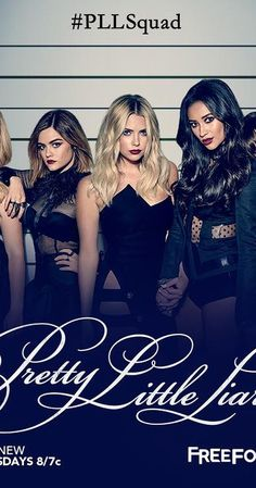 Created by I. Marlene King.  With Troian Bellisario, Ashley Benson, Lucy Hale, Shay Mitchell. Four friends band together against an anonymous foe who threatens to reveal their darkest secrets, while unraveling the mystery of the murder of their best friend.