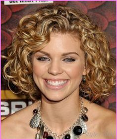 nice Medium length haircuts for curly hair and round face