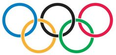 """Large Olympic Rings temporary tattoos are a great way to show your Olympic spirit. You will receive 10 tattoos in this pack. The image size is 2.75"""" x 1.5"""". Olympic Rings Temporary Tattoo"""