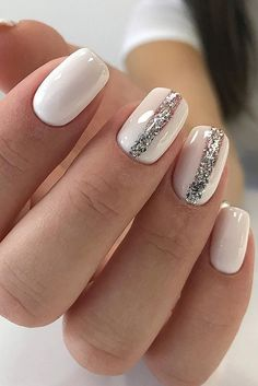 Wow Wedding Nail Ideas ❤ See more: http://www.weddingforward.com/nail-ideas/ #weddings