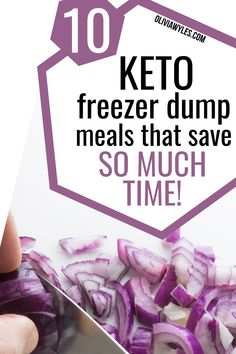 Keto Crockpot Recipes, Ketogenic Recipes, Diet Recipes, Low Carb Recipes, Ketogenic Diet, Slow Cooker Recipes, Dump Meals, Freezer Meals, Keto Meal Plan
