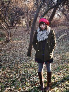 oh whimsical me: Wears: Winter Walks