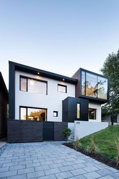 House Design, Beautiful Contemporary House Design Architecture Using Concrete And Wood ~ Contemporary Architecture: Concrete House Architecture Design, Residential Architecture, Contemporary Architecture, Contemporary Homes, Modern Homes, Design Exterior, Modern Exterior, Exterior Paint, Modern House Design