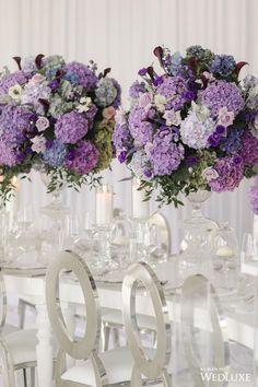 Top 10 Luxury Wedding Venues to Hold a 5 Star Wedding - Love It All Wedding Flower Guide, Purple Wedding Flowers, Star Wedding, Floral Wedding, Wedding Bouquets, Purple Wedding Flower Arrangements, Blue Wedding, Purple Bouquets, Bridesmaid Bouquets