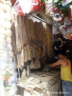 Burlap, native indigenous materials at Tabora, Manila Divisoria y'all! :)