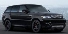 All black 2014 range rover