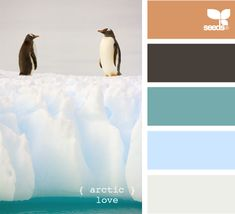 I was just looking at these colors for my bathroom.  So peaceful.