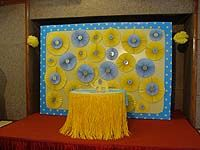 Stage Decor - Yellow and Blue Baby Shower