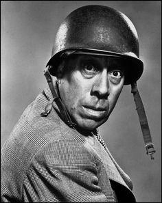 Philippe Halsman - USA. 1948. NYC. FERNANDEL, French Actor.