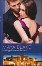 Marriage Made of Secrets (Mills & Boon Largeprint Romance) by Maya Blake