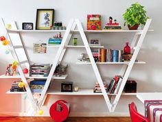 ladder re-use / shelf